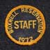 1972 Staff Hat Patch
