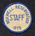 1978 Staff Hat Patch