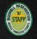 1987 Staff Hat Patch